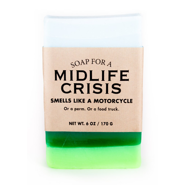 Soap For A Midlife Crisis Soap Whiskey River Soap Co. Bar Soap