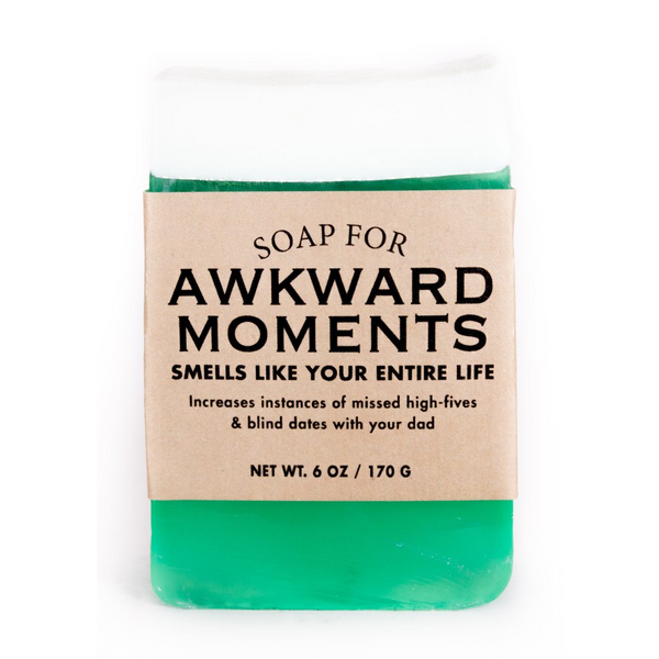 Soap For Awkward Moments Whiskey River Soap Co. Bar Soap