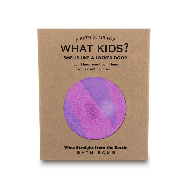 What Kids? Bath Fizzer Whiskey River Soap Co. Bath Bombs & Fizzers