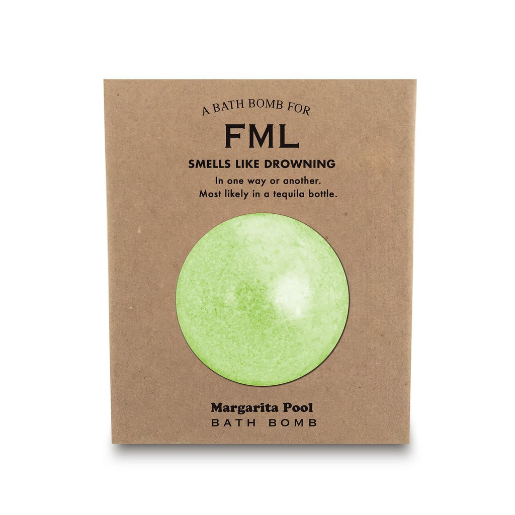 A Bath Bomb For FML Whiskey River Soap Co. Health & Beauty > Personal Care > Cosmetics > Bath & Body > Bath Additives