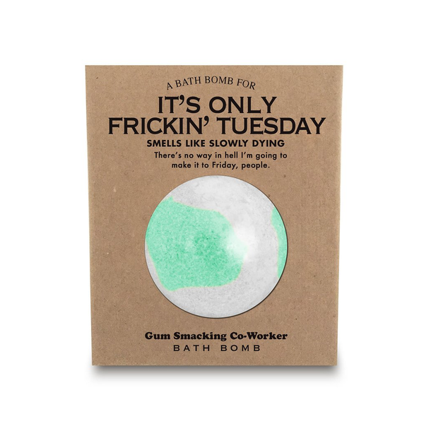 A Bath Bomb For It's Only Frickin' Tuesday Whiskey River Soap Co. Health & Beauty > Personal Care > Cosmetics > Bath & Body > Bath Additives