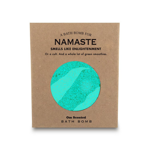 A Bath Bomb For Namaste Whiskey River Soap Co. Health & Beauty > Personal Care > Cosmetics > Bath & Body > Bath Additives