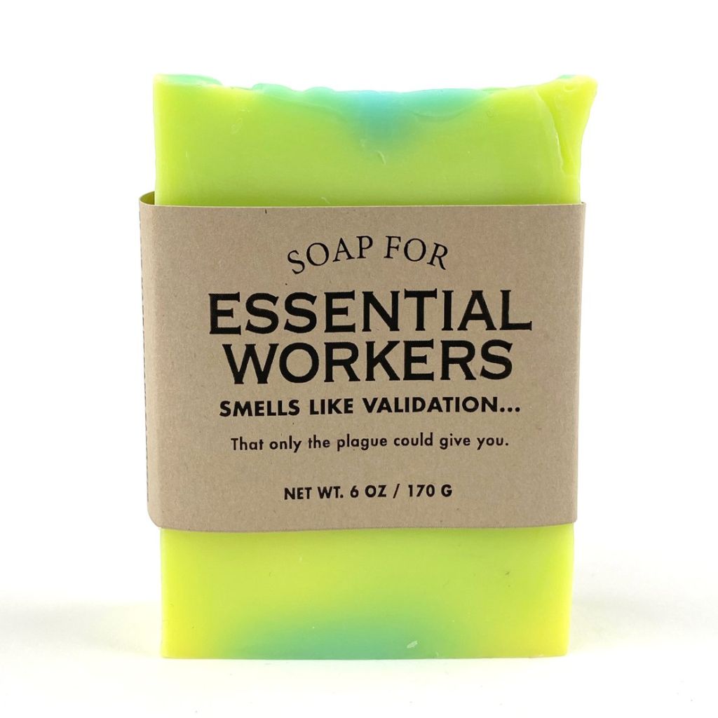 Essential Workers Soap WHISKEY RIVER SOAP Home - Bath and Body