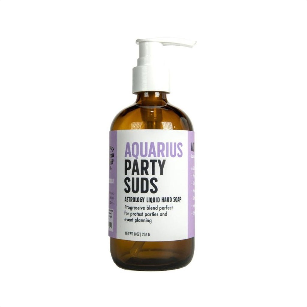 Aquarius Party Suds Liquid Hand Soap WHISKEY RIVER SOAP Home - Bath & Body