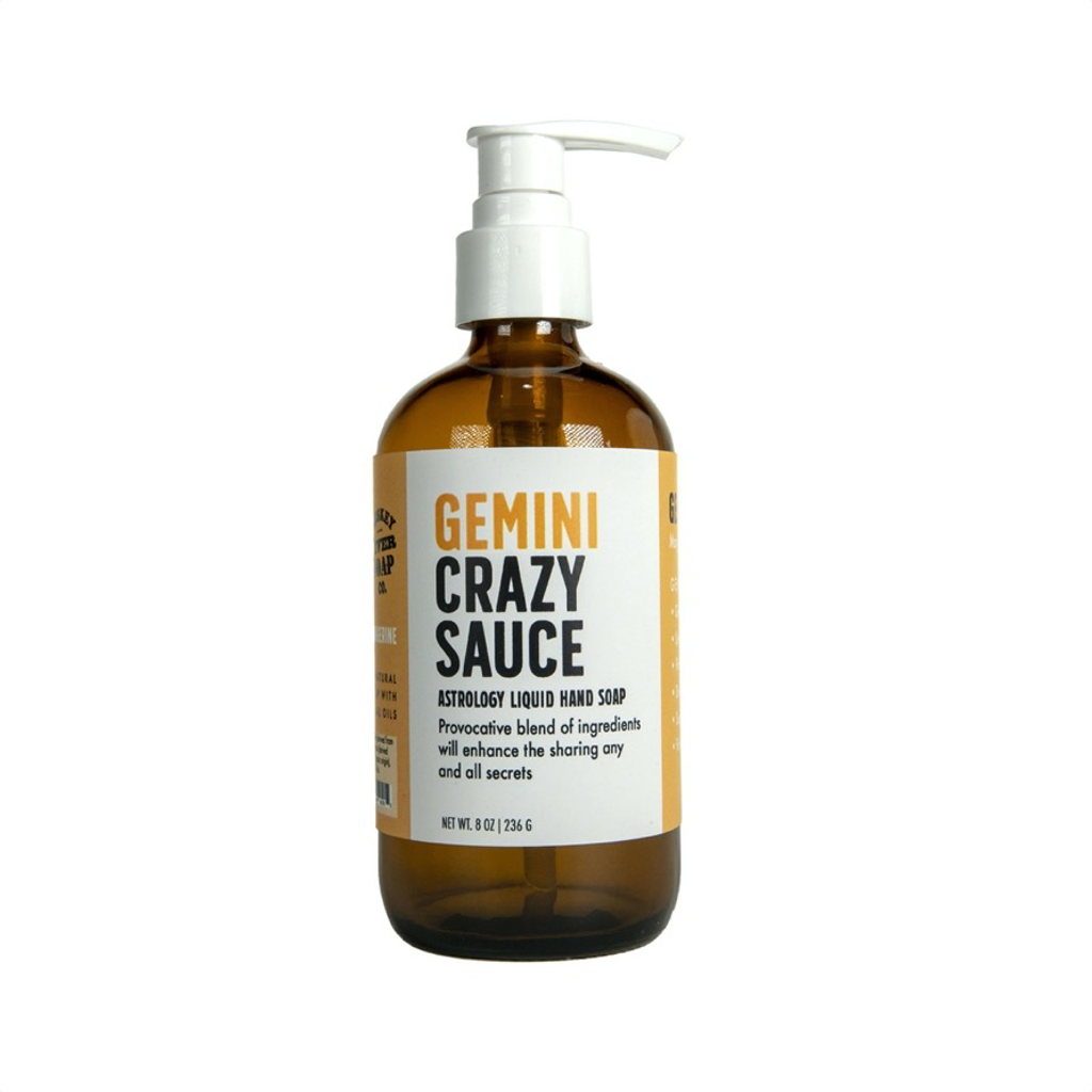 Gemini Crazy Sauce Liquid Hand Soap WHISKEY RIVER SOAP Home - Bath & Body