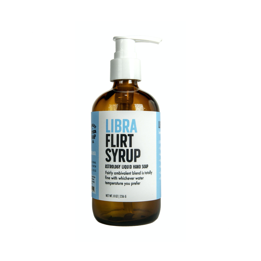 Libra Flirt Syrup Liquid Hand Soap Whiskey River Soap Liquid Hand Soap