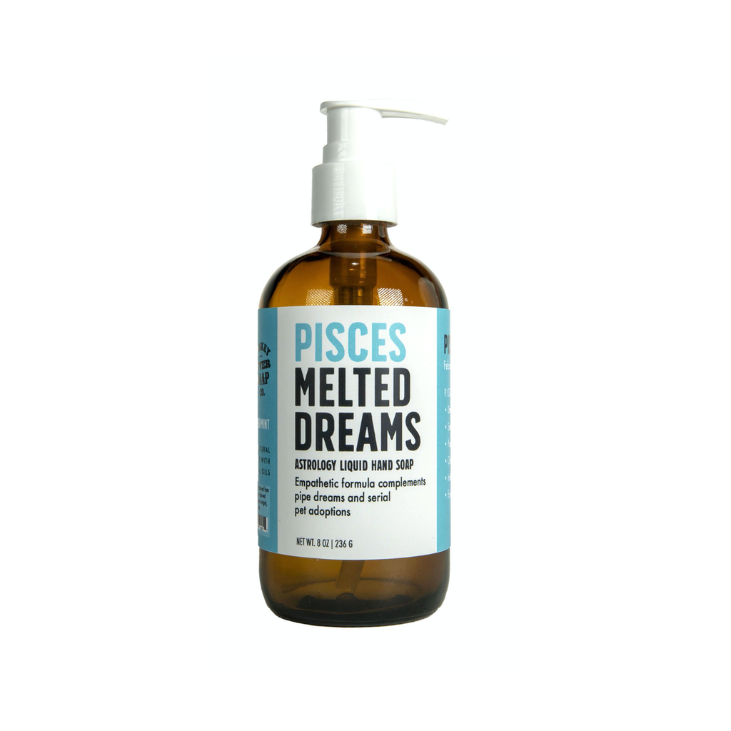 Pisces Melted Dreams Liquid Hand Soap Whiskey River Soap Liquid Hand Soap