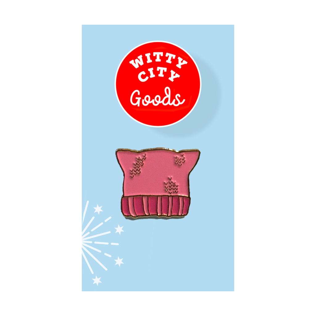 Witty City Goods Buttons & Pins Pussy Hat Pin
