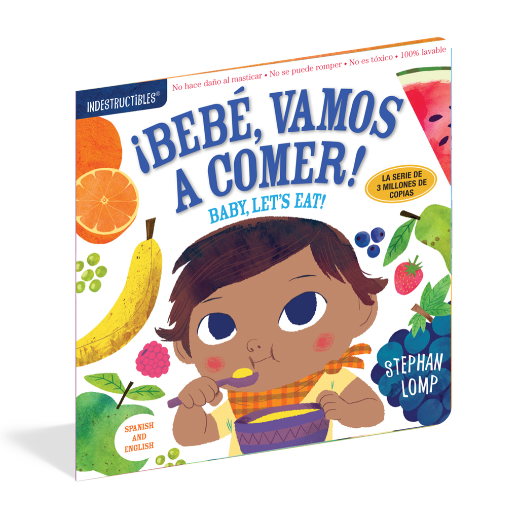 Indestructibles - Bebé, Vamos a Comer! (Baby, Let's Eat!) Baby Book Workman Publishing Books - Board Book