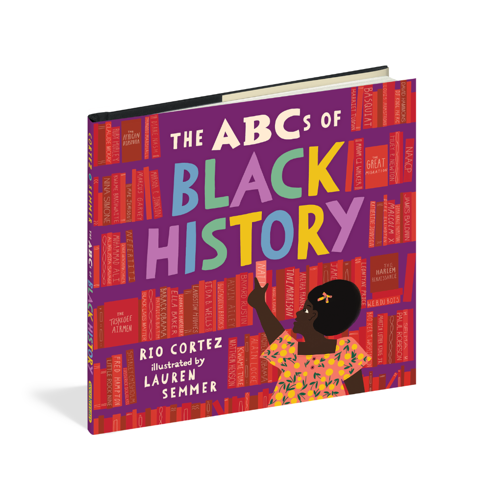 The ABCs of Black History Book Workman Publishing Books - Children