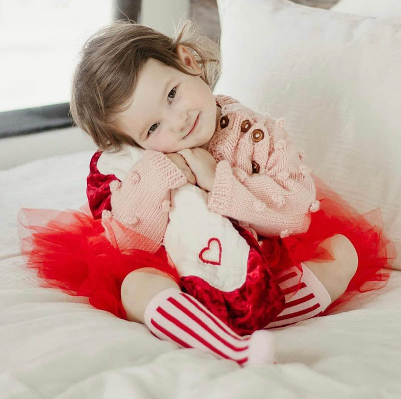 Cute Little Girls Dresses for a Great Mom & Daughter Valentine's Day