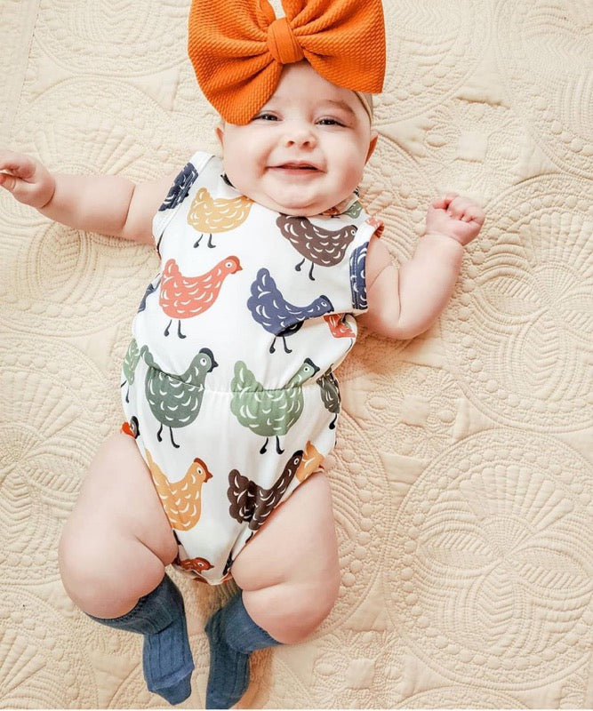 Little Girls Rompers