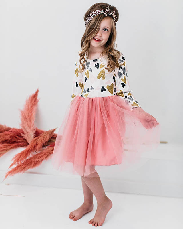 New Valentine's Cute Little Girl Dresses Collection by Mila & Rose