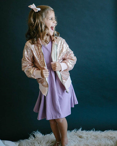 Girls Sequin Jacket