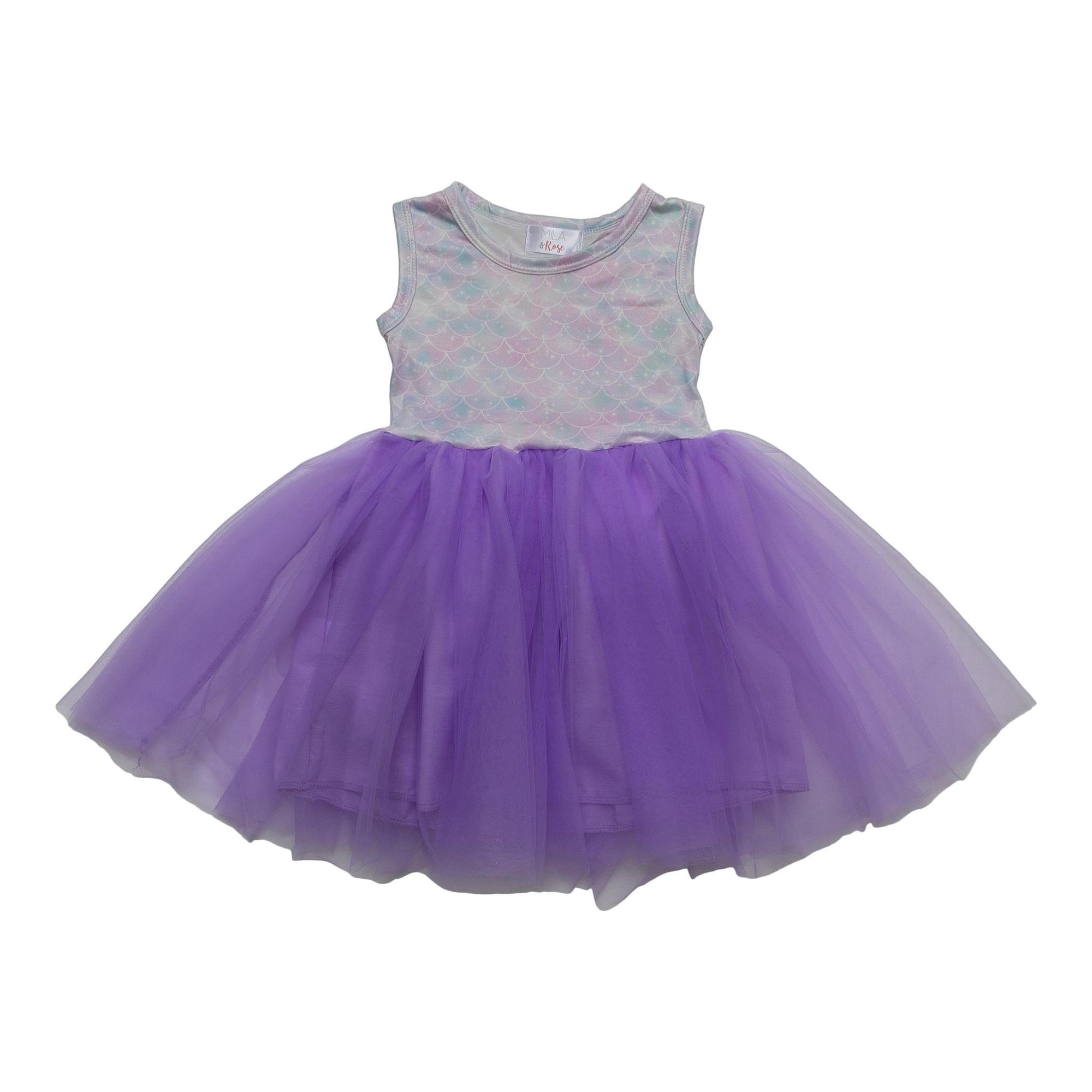 Mermaid Sparkles Tank Tutu Dress-Mila & Rose ®