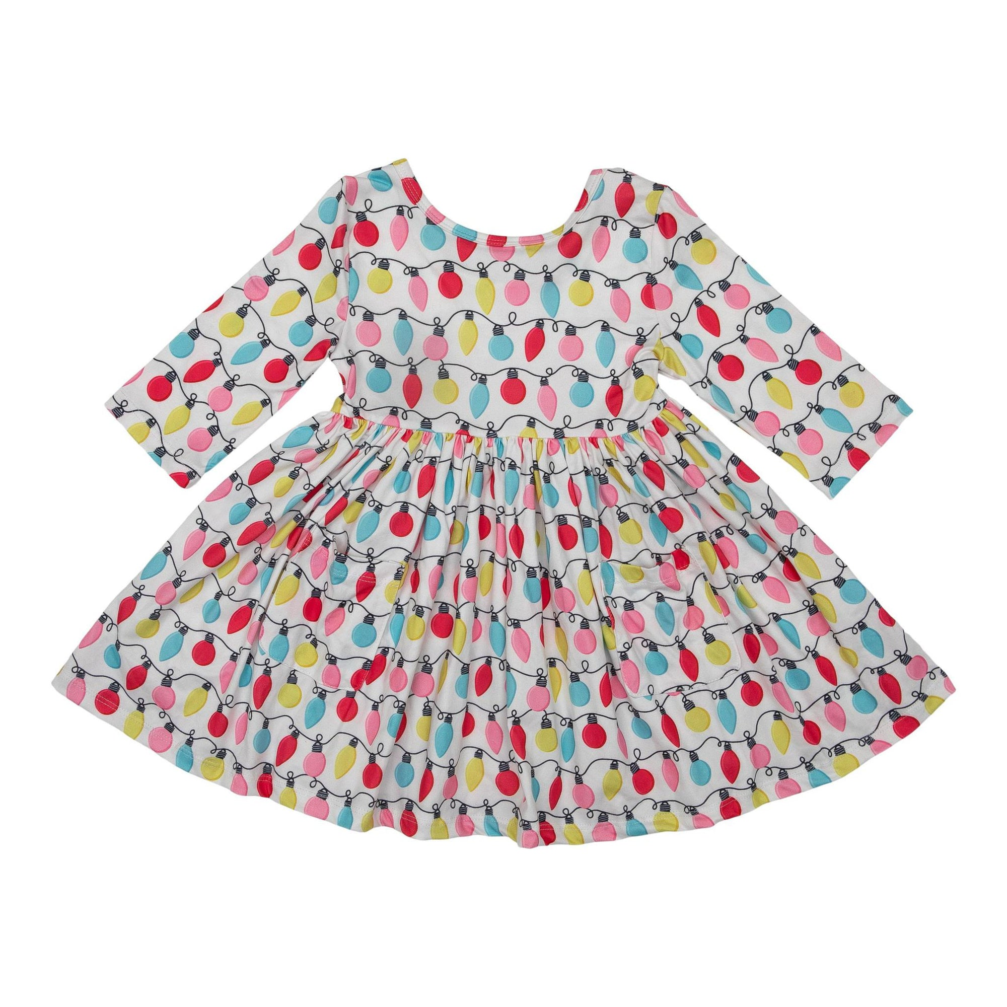 Merry & Bright Pocket Twirl Dress-Mila & Rose ®