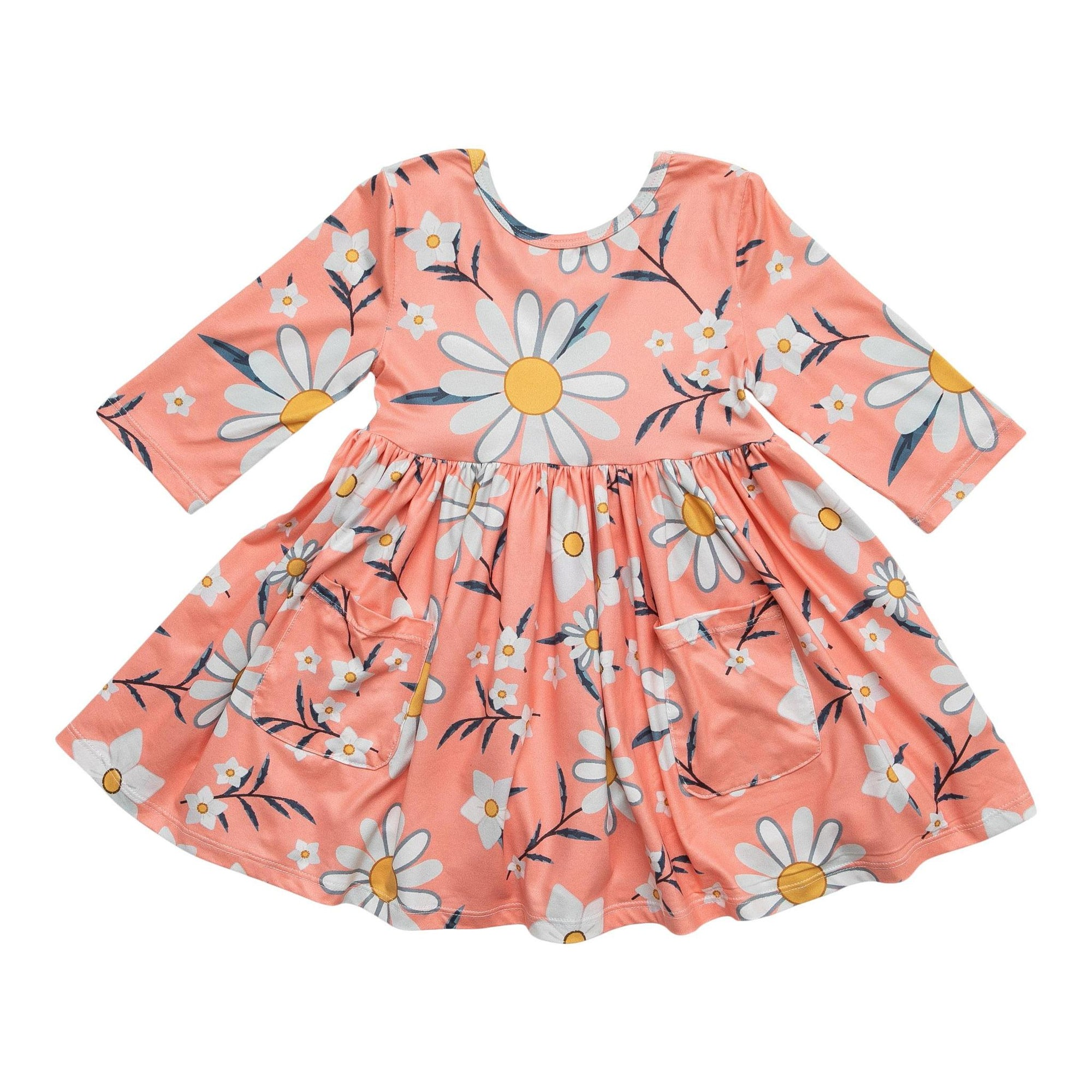 Daisy Darling Pocket Twirl Dress-Mila & Rose ®