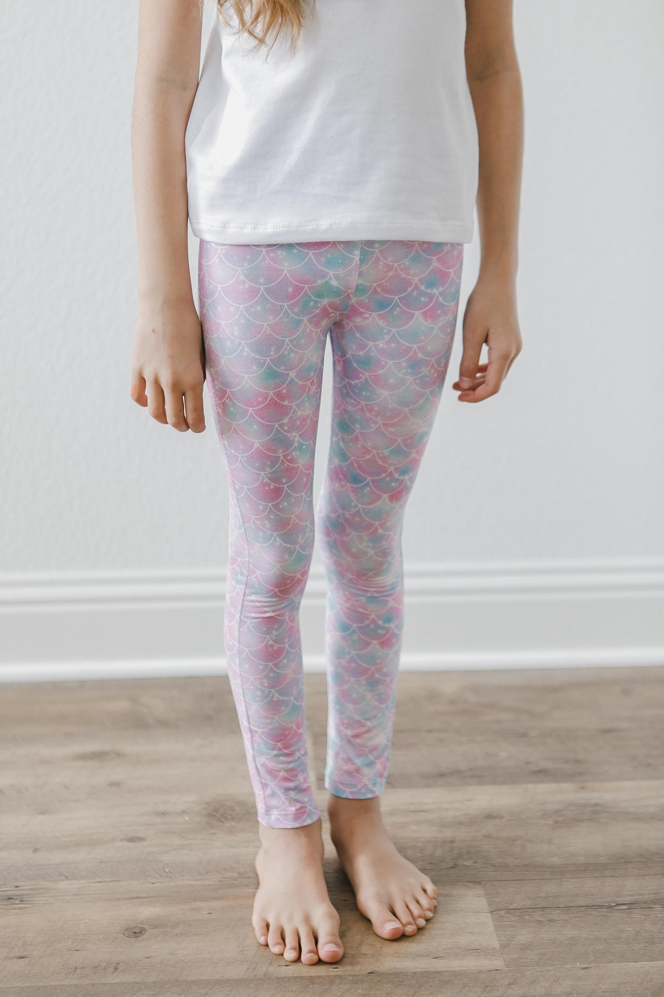 Mermaid Sparkles Leggings-Mila & Rose ®