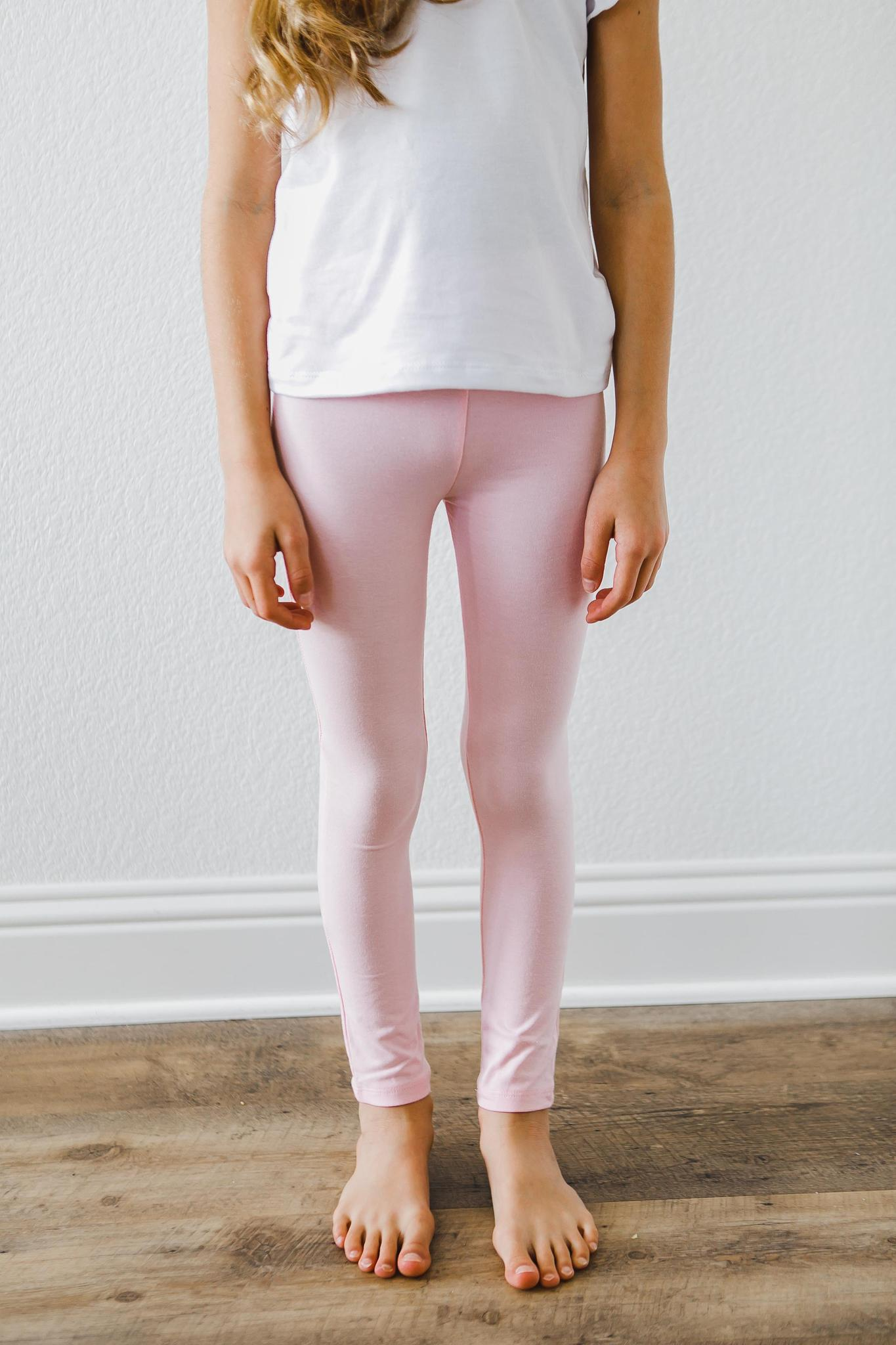 Light Pink Leggings-Mila & Rose ®