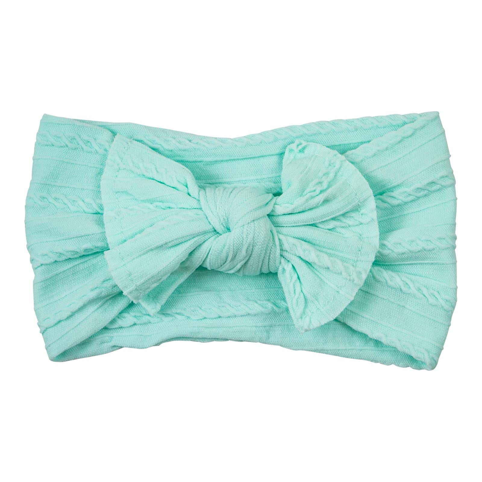Mint Cable Knit Nylon Headwrap-Mila & Rose ®