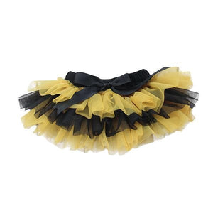 Team Colors Black and Gold Ruffle Tutu Bloomer