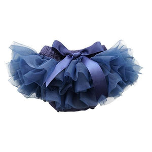 Navy Blue Ruffle Tutu Bloomer