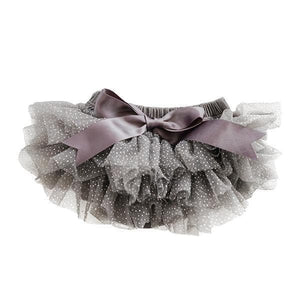 Charcoal and Silver Glitter Tutu Bloomer-Mila & Rose ®