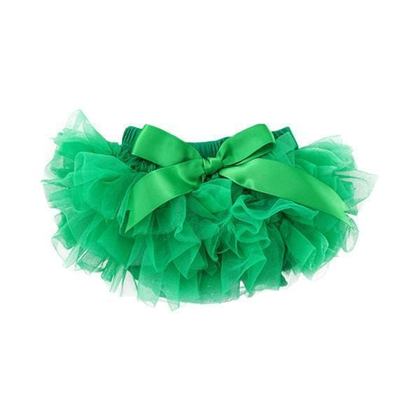 Emerald Green Ruffle Tutu Bloomer