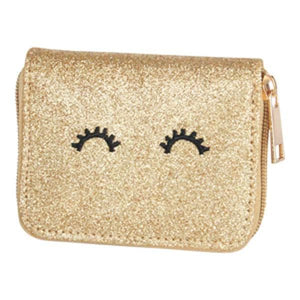 Gold Glitter Wallet-Mila & Rose ®