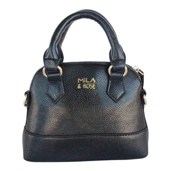 Midnight Black Girl's Purse-Mila & Rose ®