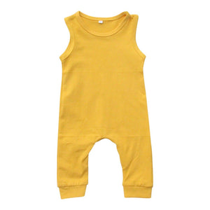 Mustard Tank One-Piece-Mila & Rose ®