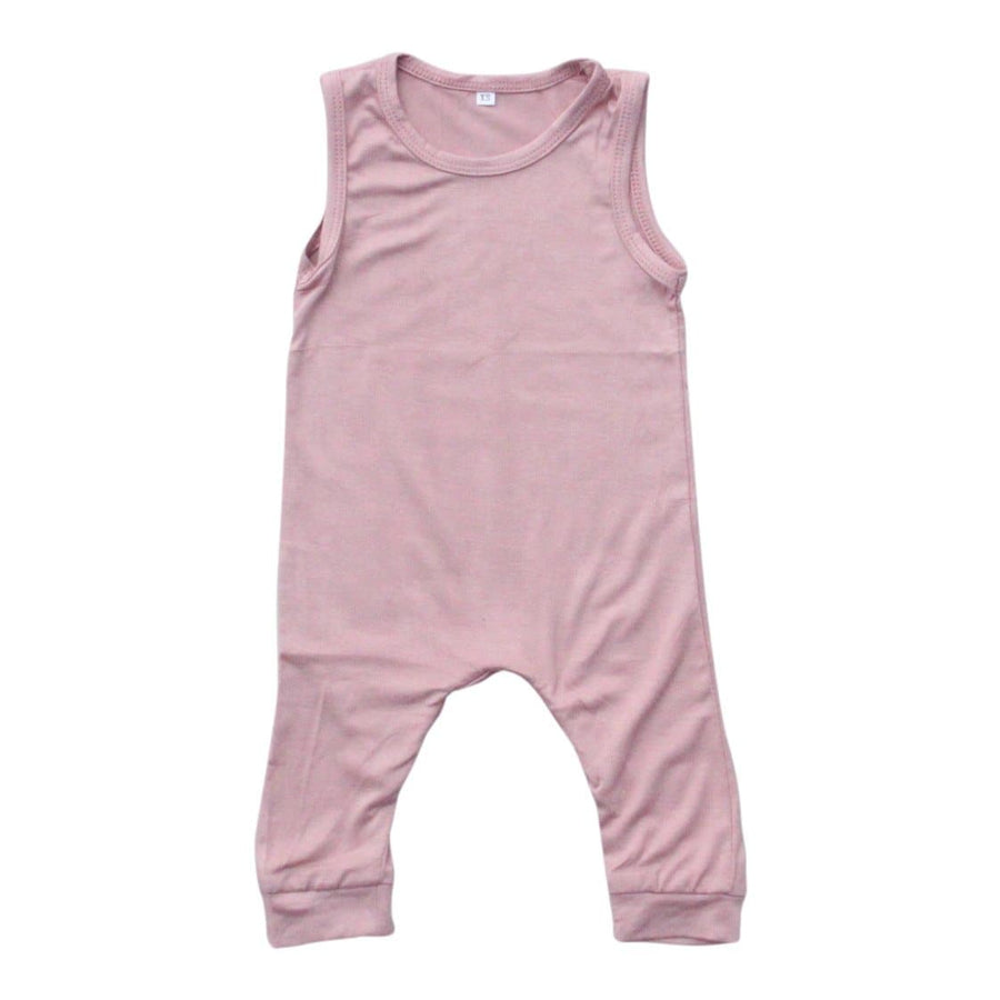 Vintage Pink Tank One-Piece-Mila & Rose ®