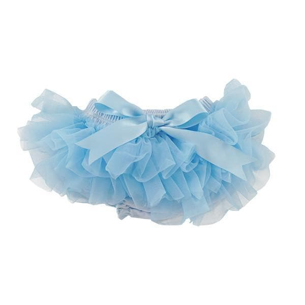 Light Blue Ruffle Tutu Bloomer