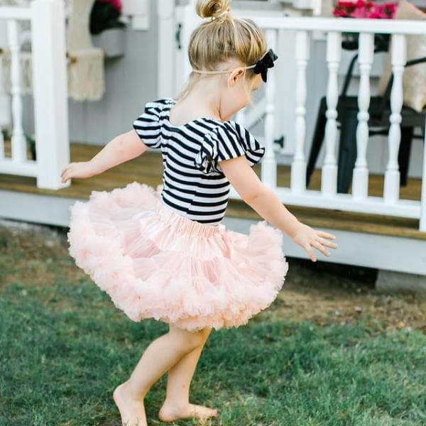 Twirl Tutu™ in Peach-Mila & Rose ®