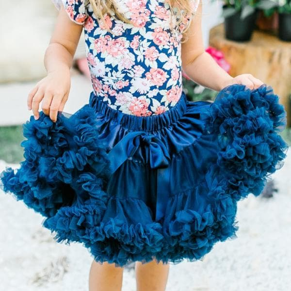 Twirl Tutu™ in Navy-Mila & Rose ®