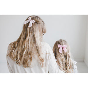 Light Pink Hand Tied Bow-Mila & Rose ®