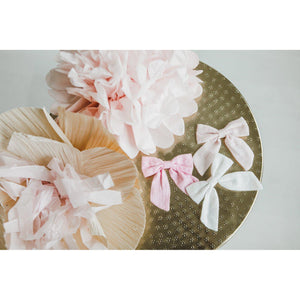 Off White Hand Tied Bow-Mila & Rose ®