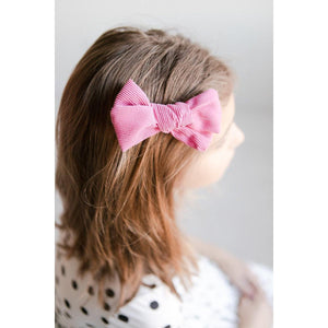 Hot Pink Cord Bow-Mila & Rose ®