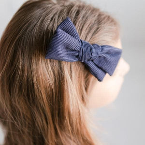 Navy Cord Bow-Mila & Rose ®