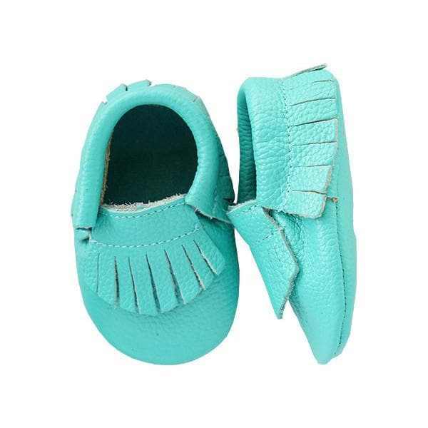 Tropic Leather Baby Moccasins-Mila & Rose ®