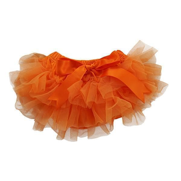 Orange Ruffle Tutu Bloomer