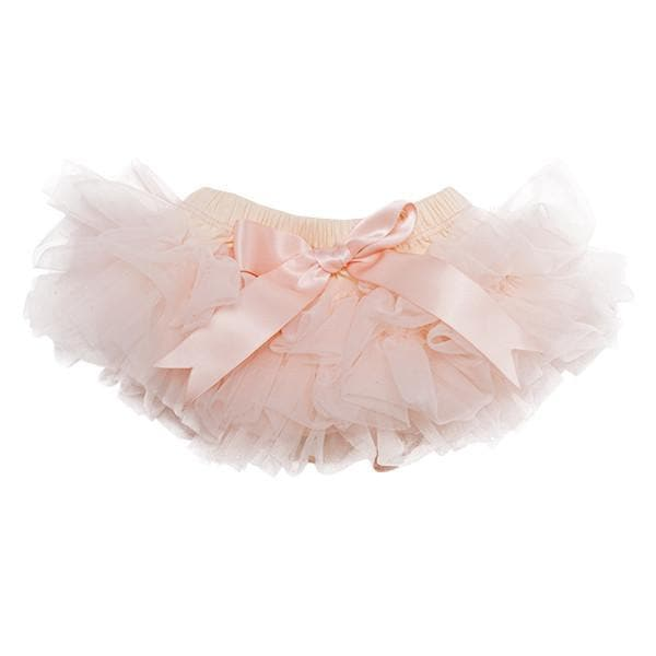 Peach Ruffle Tutu Bloomer