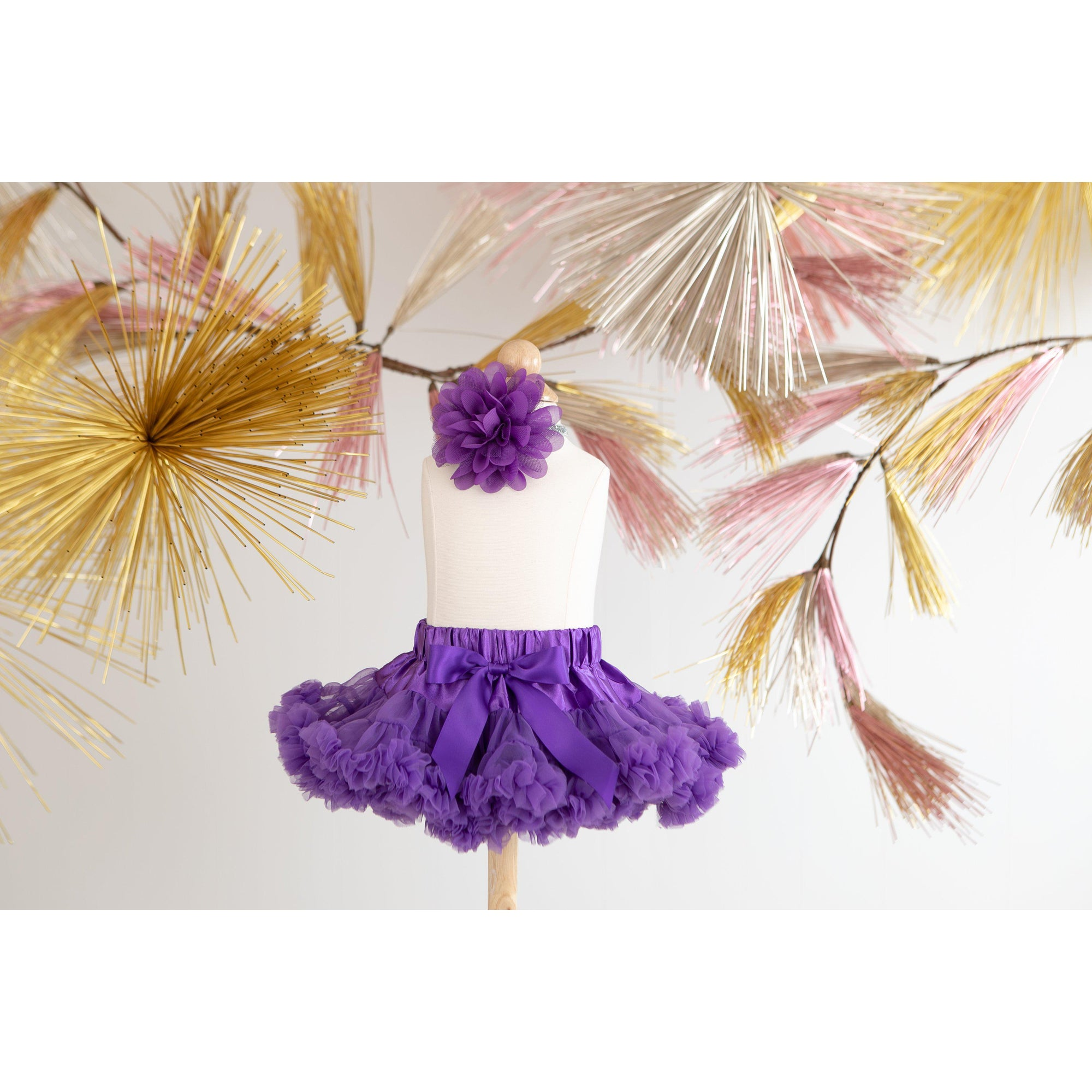 Twirl Tutu™ in Purple-Mila & Rose ®