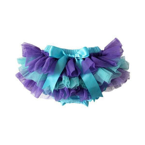 Purple & Turquoise Tutu Bloomer-Mila & Rose ®