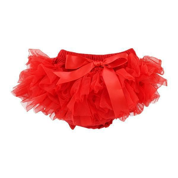 Red Ruffle Tutu Bloomer-Mila & Rose ®