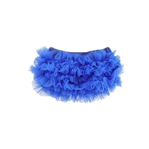 Royal Blue Ruffle Bottom Bloomer