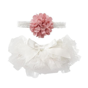 Off White Tutu Bloomer-Mila & Rose ®