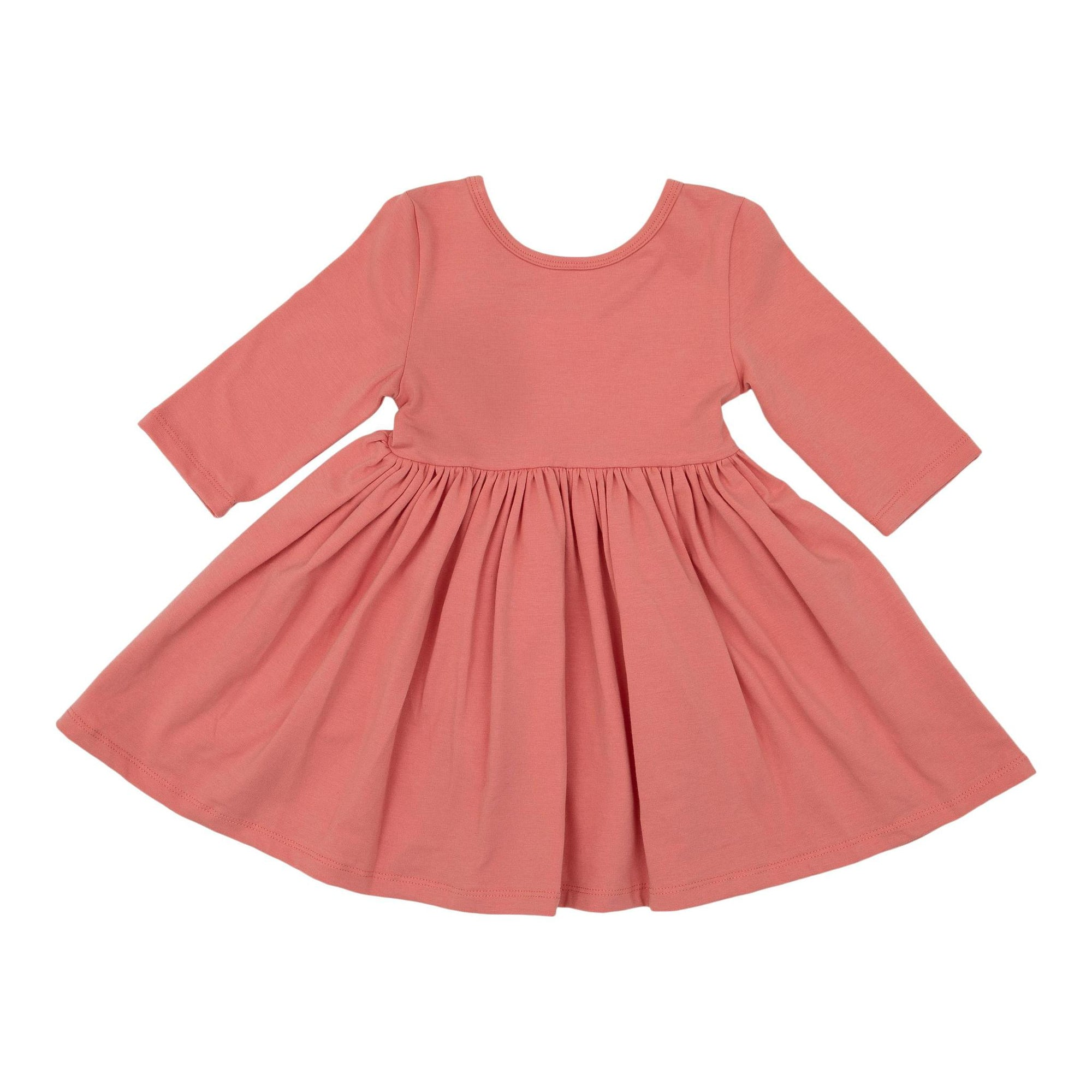 Pumpkin Peach Twirl Dress-Mila & Rose ®