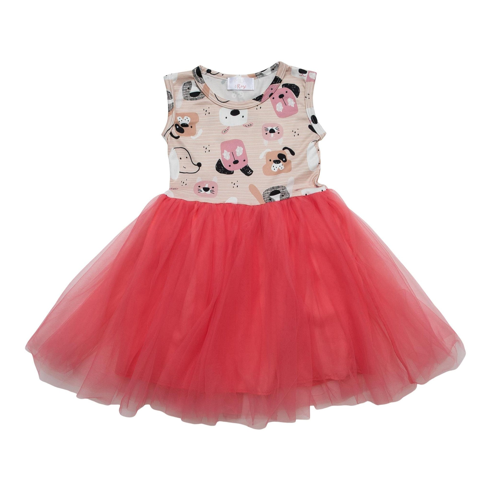 Dog Days Tank Tutu Dress-Mila & Rose ®