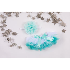 Mint Ombre Tutu Bloomer-Mila & Rose ®